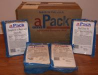 Ameriqual APack Case and MREs