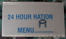 British 24 Hour Ration