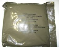 Canadian LMC, menu 2 bag