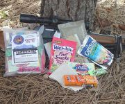 Coyote Camp, sportsman-pac meal