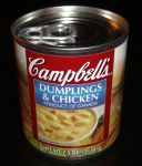 Campbell's Dumplings & Chicken front