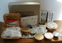 German EPA ration meal and contents