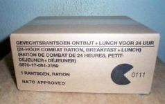 Dutch 24 Hour Combat Ration