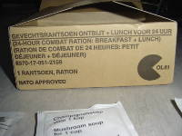 Dutch 24 Hour Combat Ration - Regular