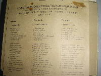 Dutch ration menu