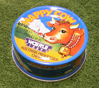 French RCIR Happy Cow Processed Cheese Spread