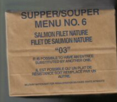 Canadian IMP 03 supper menu 6 salmon filet nature