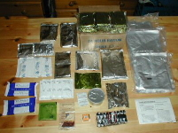 British  24-Hour Operational Ration Pack Contents