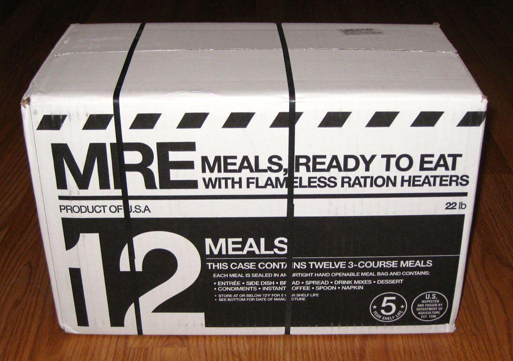 mre variations shelf life giant of meals