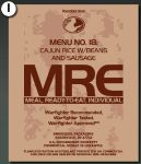 2006 MRE Bag Test Design 1
