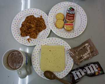 1999 MRE Menu #20 - Spaghetti w/Meat Sauce - Whole meal