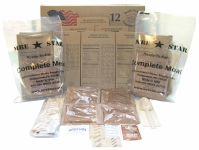 MRE Star packages and contents
