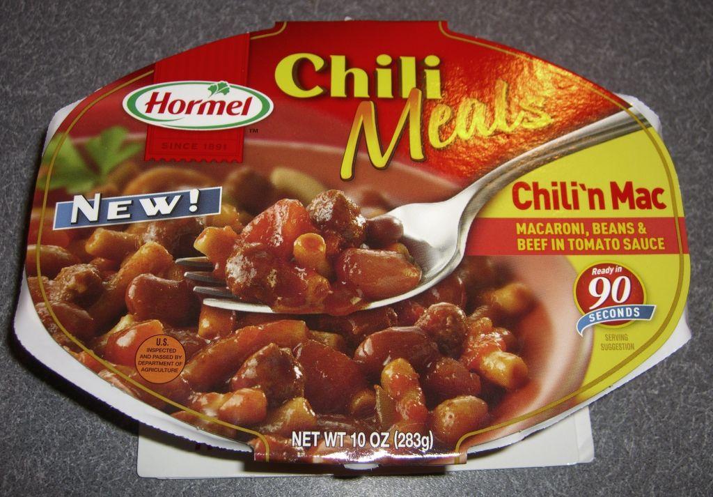 Hormel Hot Dog Chili Nutrition