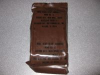 1986 MRE #12 - Ground Beef with Spiced Sauce