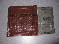 1986 MRE #12 - Crackers and Peanut Butter