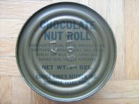 1979 MCI Chocolate Nut Roll can