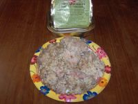 Russian Ration pork with rice