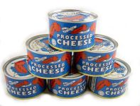 Red Feather Cheese cans