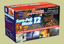 Sure-Pack Meal Case of 12