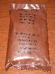 1982 Menu #1 - Pork Patty MRE Bag