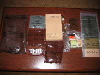 1993 Tuna MRE contents