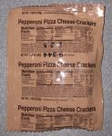 Front Bag of Eversafe Pepperoni Pizza Cheese Crackers (Combos)