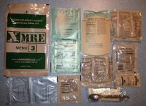 XMRE MRE, Menu 3 Contents