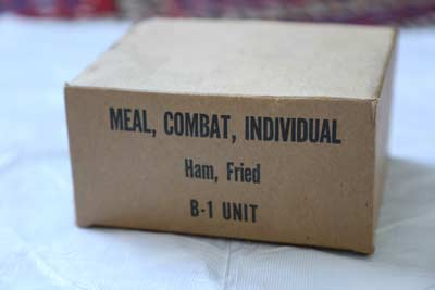 MCI, or Meal, Combat, Individual (C-Rations)