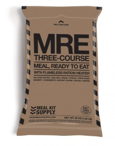 Meal Kit Supply 3-Course MRE (Meal Ready to Eat)