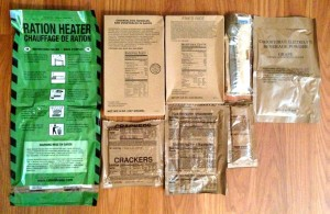 Meal Kit Supply MRE Contents