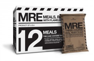 Meal Kit Supply 12-pack of 3-course MRE Case
