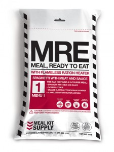 Meal Kit Supply 2-Course MRE (Meal, Ready to Eat)