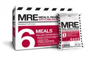 Meal Kit Supply 6-Pack of MREs (Meals, Ready to Eat)