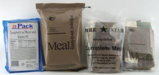 APack, EverSafe, MREStar and Sure-Pak MRE
