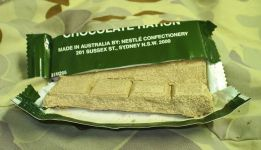 Australian CR5M chocolate ration