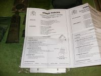 Spanish Combat Ration Instruction Sheet