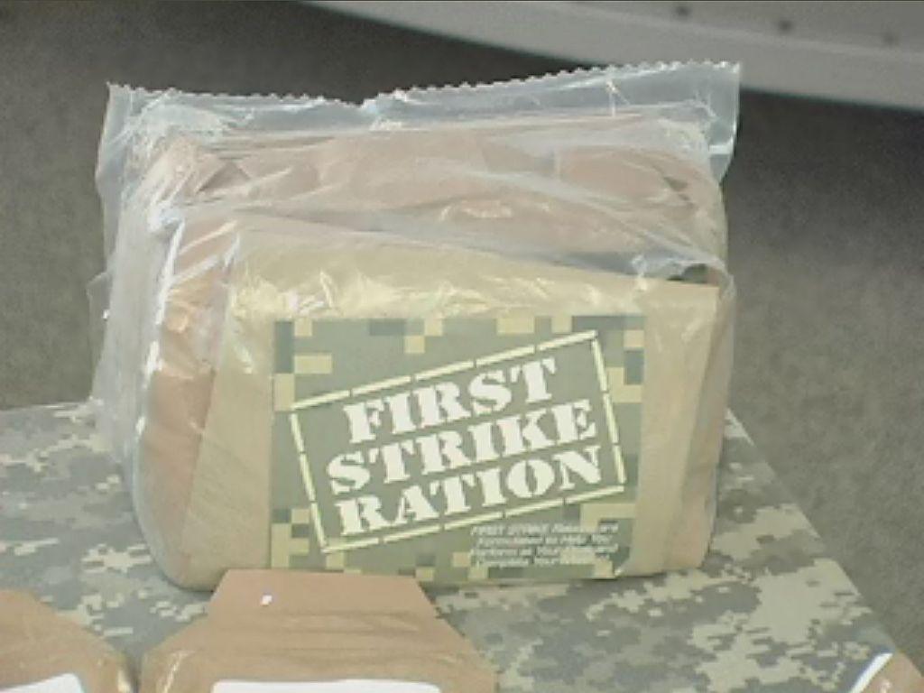 First Strike Ration Fsr Mre Info
