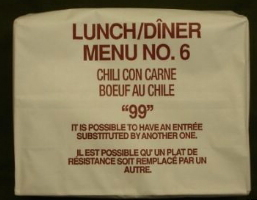 Canadian IMP Lunch Menu 6 Chili Con Carne
