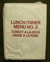 Canadian IMP Lunch/Dinner Menu 2 Turkey A La King