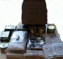 British 24 hour ration contents