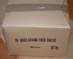 24 hour ration pack artic
