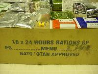 British  24-Hour Operational Ration Pack
