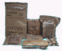 LRP - Food Packet, Long Range Patrol and Contents