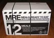 Meal Kit Supply 12-pack of 3-course MREs