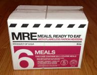 Meal Kit Supply 6-pack of 2-course MRE Case