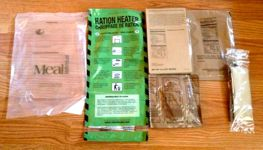 Meal Kit Supply 6-pack of 2-course MRE Contents