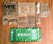 Meal Kit Supply MRE Menu #4, Chicken with Noodles Contents