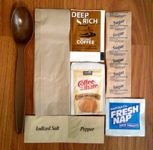 Meal Kit Supply MRE Menu #4, Chicken with Noodles Accessory Pack