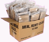 These aren t real US military MREs. Some are perfectly good name brand  civilian MREs (Sopakco   Ameriqual) and some are generic or private label  civilian ... 8d150c561