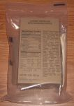 MRE Star back package